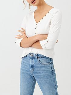 v-by-very-the-valuenbspessential-34-henley-top-white