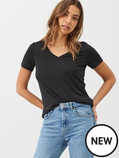 v-by-very-the-essential-v-neck-premium-t-shirt-black