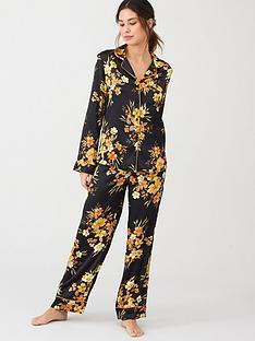 v-by-very-satin-pyjamas-black-floral