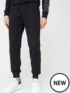 diesel-large-logo-lounge-joggers-black