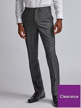 burton-menswear-london-burton-check-tailored-suit-trousers-grey