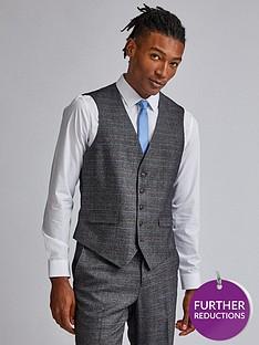 burton-menswear-london-burton-check-tailored-suit-waistcoat-grey