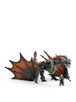 Mega Construx Mega Construx Game Of Thrones Daenerys And Drogon Picture