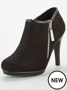 wallis-zip-side-platform-shoe-boots-black