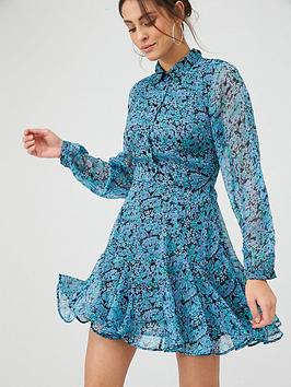 V by Very V By Very Woven Shirt Dress &Ndash; Ditsy Floral Picture