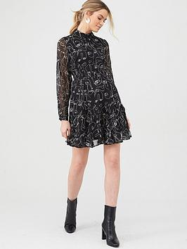 V by Very V By Very Woven Printed Shirt Dress Picture