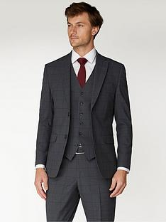 jeff-banks-jeff-banks-windowpane-check-travel-suit-jacket-in-regular-fit-charcoal