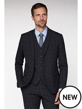 jeff-banks-jeff-banks-check-brit-suit-jacket-in-super-slim-fit-blue