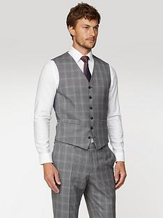 jeff-banks-jeff-banks-mulberry-check-soho-waistcoat-in-modern-regular-fit-grey