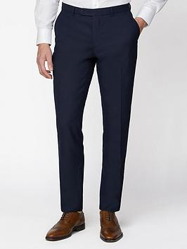 Jeff Banks Jeff Banks Jeff Banks Jacquard Texture Soho Suit Trousers In  ... Picture
