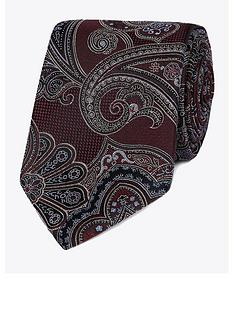 jeff-banks-jeff-banks-intricate-paisley-silk-tie-wine