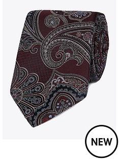 jeff-banks-jeff-banks-intricate-paisley-silk-tie-wine