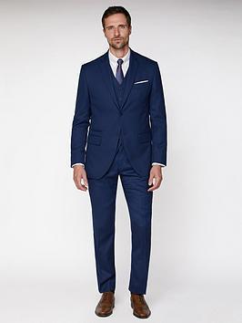 Jeff Banks Jeff Banks Textured Soho Suit Jacket - Blue Picture