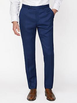 Jeff Banks   Textured Soho Suit Trousers - Blue