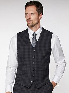 jeff-banks-jeff-banks-tonal-grid-texture-soho-waistcoat-in-modern-regular-fit-charcoal