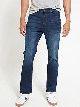 V by Very V By Very Straight Jeans - Dark Wash Picture