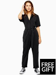 topshop-topshop-petite-boiler-suit-washed-black