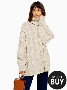 topshop-topshop-chunky-cable-knit-roll-neck-jumper-oatmeal