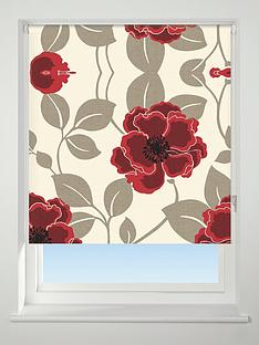 papavero-floral-blackout-roller-blind