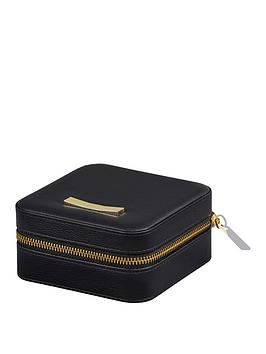 Ted Baker Ted Baker Ted Baker Ladies Zipped Jewellery Case Black Picture