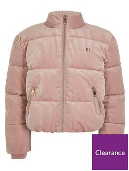 river-island-girls-cord-padded-coat-pink