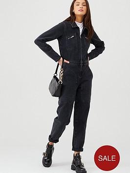 v-by-very-denim-zip-front-boilersuit-washed-black