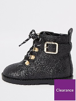 river-island-mini-mini-girls-glitter-bike-boots-black