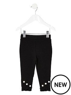 river-island-mini-mini-girls-frill-leggings-black