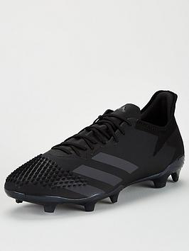 Adidas Adidas Predator 20.2 Firm Ground Football Boot - Black Picture