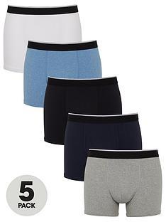 v-by-very-5-pack-denim-blue-trunks