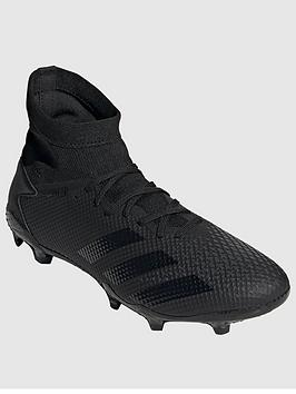 Adidas Adidas Predator 20.3 Astro Turf Football Boots - Black Picture