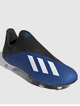 Adidas Adidas X Laceless 19.3 Firm Ground Football Boot - Blue Picture