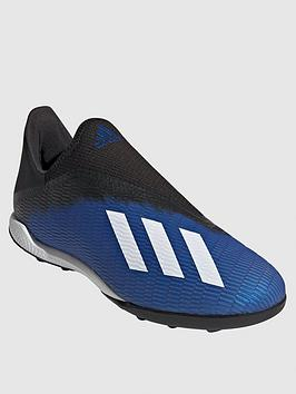 Adidas Adidas X Laceless 19.3 Astro Turf Football Boot - Blue Picture