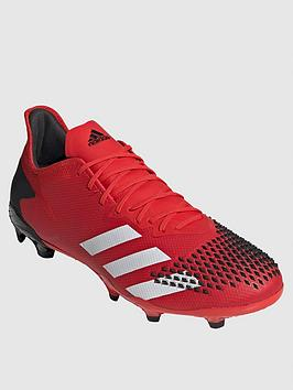 Adidas Adidas Predator 19.2 Firm Ground Football Boot - Red/Black Picture