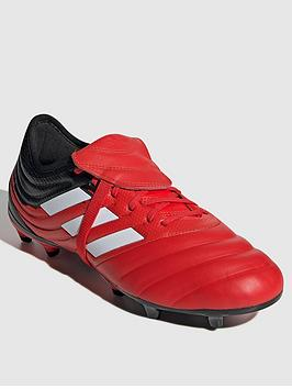 Adidas   Copa 20.2 Firm Ground Football Boot - Red/Black