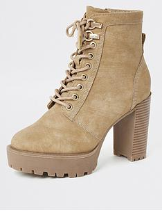 river-island-river-island-high-heel-lace-up-boot-beige