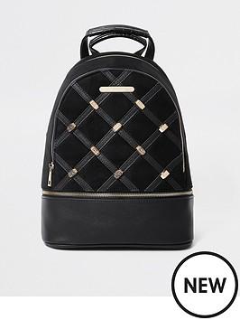 river-island-studded-backpack-black