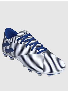 Adidas Adidas Nemeziz 19.4 Firm Ground Football Boot - Blue/White Picture