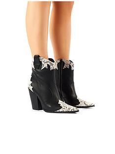 public-desire-sting-ankle-boot-black