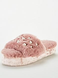 v-by-very-pearl-embellished-slider-slippers-mink