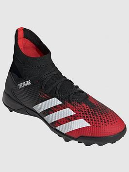 Adidas Adidas Predator 19.3 Astro Turf Football Boots - Red/Black Picture