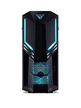 Acer Predator Po3-600 Intel Core I5, 8Gb Ram, 2Tb Hdd + 256Gb Ssd, Nvidia Gtx 1660Ti Graphics, Gaming Desktop - Black