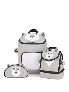 wolf-backpacklunchbag-pencil-case-set