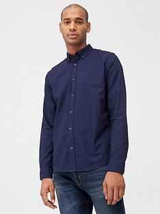 very-man-long-sleeved-button-down-oxford-shirt-navy