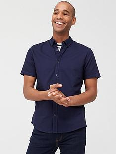 very-man-short-sleeved-button-down-oxford-shirt-navy