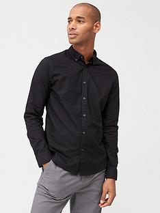 very-man-long-sleeved-button-down-oxford-shirt-black