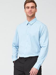 v-by-very-long-sleeved-easycare-shirt-blue