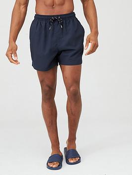 V by Very V By Very Basic Swimming Shorts - Navy Picture