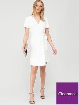 ted-baker-marimel-short-sleeve-wrap-dress-white