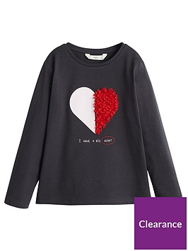 mango-girls-long-sleeve-heart-applique-t-shirt-black